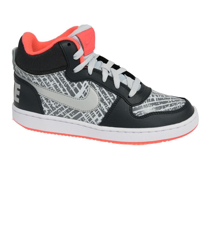 Nike Εφηβικό Παπούτσι Μόδας Court Borough Mid Prnt Gs 845103