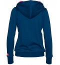 Body Action Γυναικεία Ζακέτα Με Κουκούλα Women Hooded Jacket 071725
