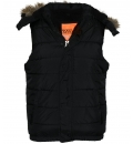 Body Action Γυναικείο Αθλητικό Μπουφάν Αμάνικο Women Hooded Quilted Vest 071728