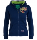 Body Action Παιδική Ζακέτα Με Κουκούλα Girls Fleece Lined Hoodie 072603