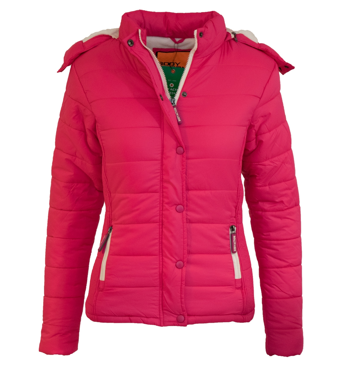 Body Action Παιδικό Αθλητικό Μπουφάν Girls Quilted Jacket 072604