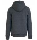 Body Action Ανδρική Ζακέτα Με Κουκούλα Men Fur Lined Zip Hoodie 073728