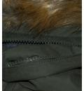 Body Action Ανδρικό Αθλητικό Μπουφάν Men Fur Hooded Bomber Jacket 073734