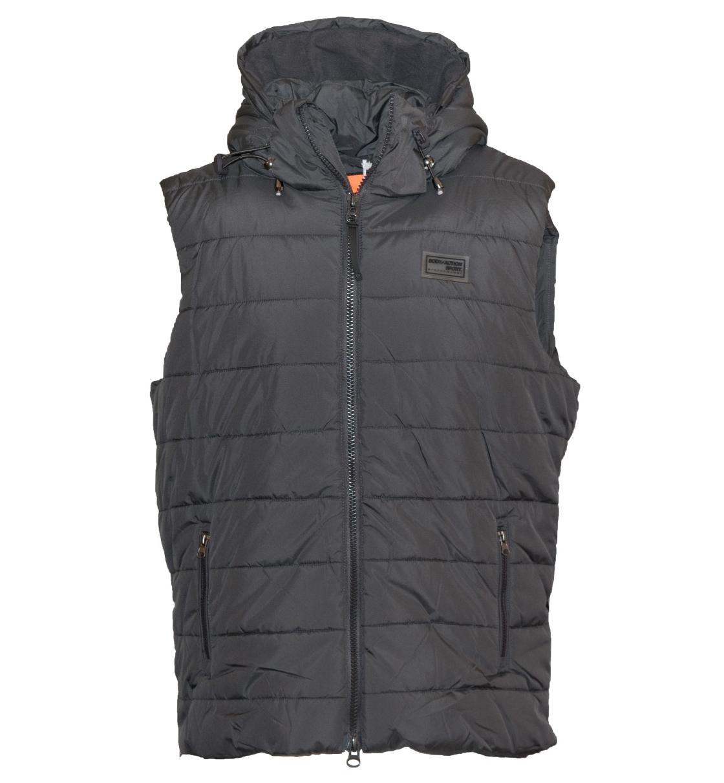 Body Action Ανδρικό Αθλητικό Μπουφάν Αμάνικο Men Zip-Through Quilted Vest 073735