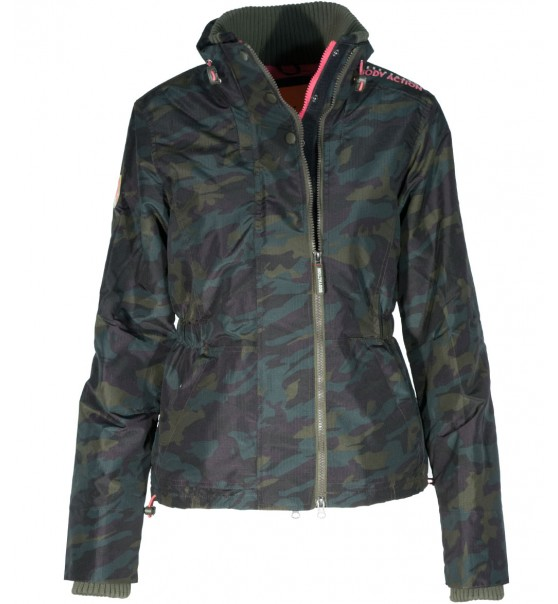 4d1c6512a2c Body Action Γυναικειο Αθλητικο Μπουφαν Women Winter Fleece Lined Jacket  071617