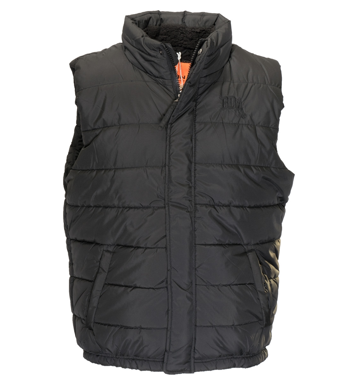 Body Action Ανδρικό Αθλητικό Μπουφάν Αμάνικο Men Mock Neck Quilted Vest 073732