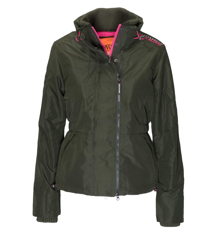 Γυναικείο Αδιάβροχο Μπουφαν Με Fleece Επενδυση Body Action 071617 f22a8fcec47