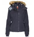 Body Action Γυναικείο Αθλητικό Μπουφάν Women Fur Hooded Winter Jacket 071732