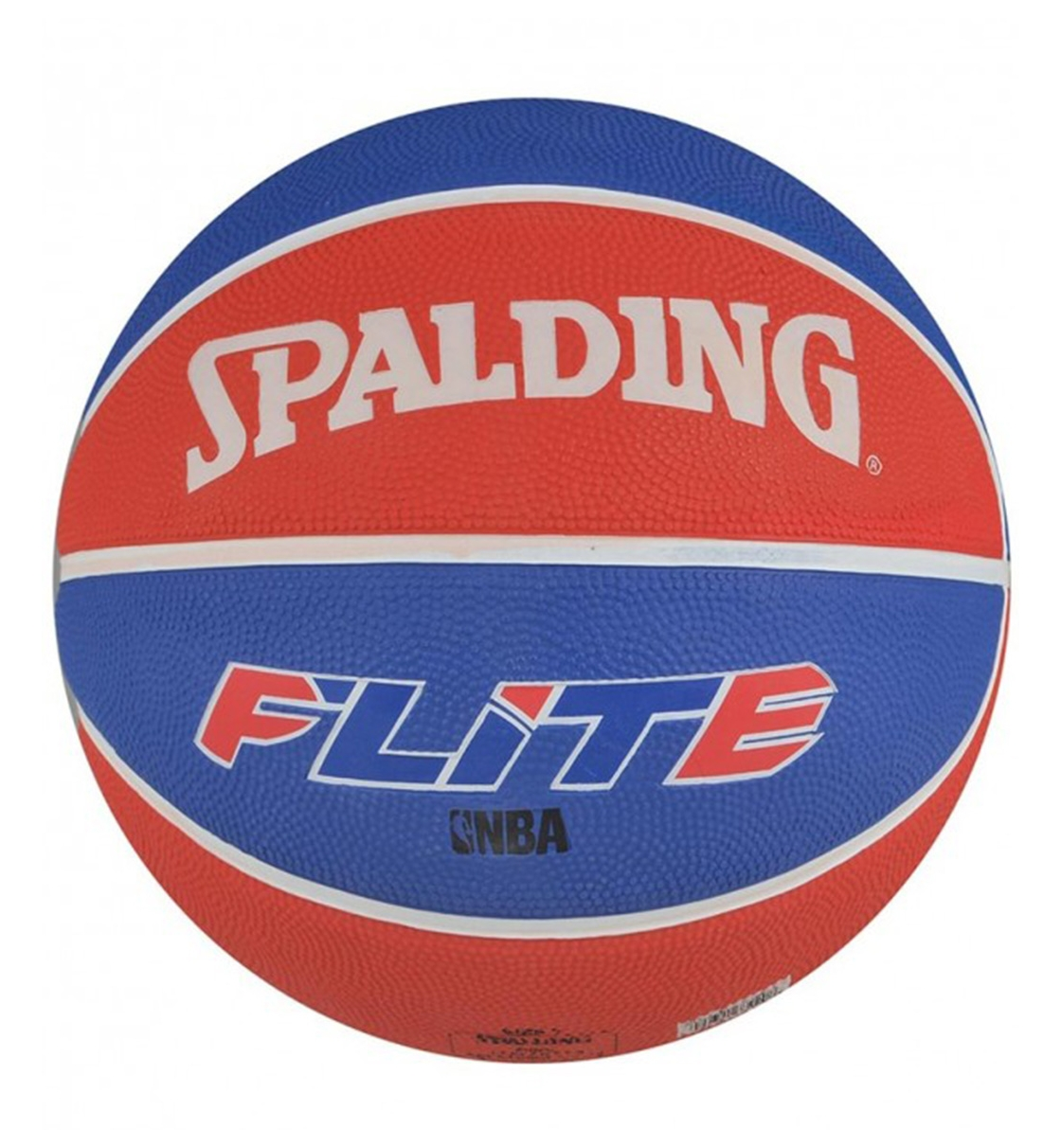 Spalding Μπάλα Basket Flite Color Size 7 Rubber Basketball 73920Z1