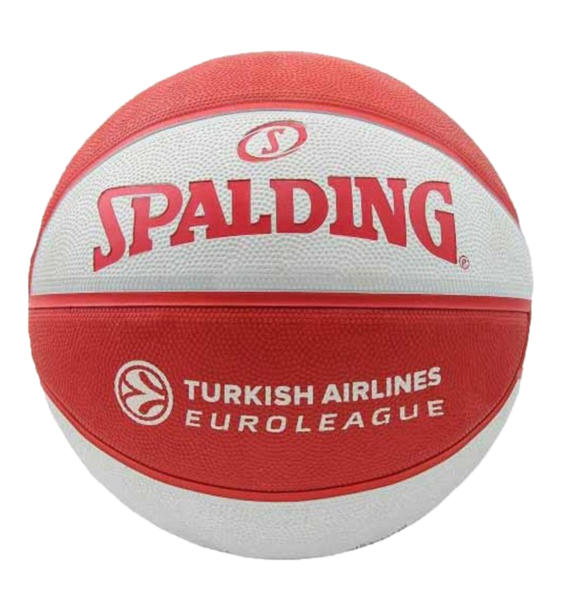 Spalding Μπάλα Basket Euroleague Team Size 7 Rubber Basketball 83032Z1