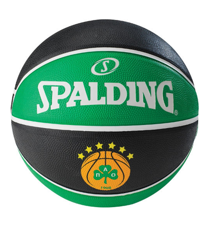 Spalding Μπάλα Basket Euroleague Team Size 7 Rubber Basketball 83079Z1