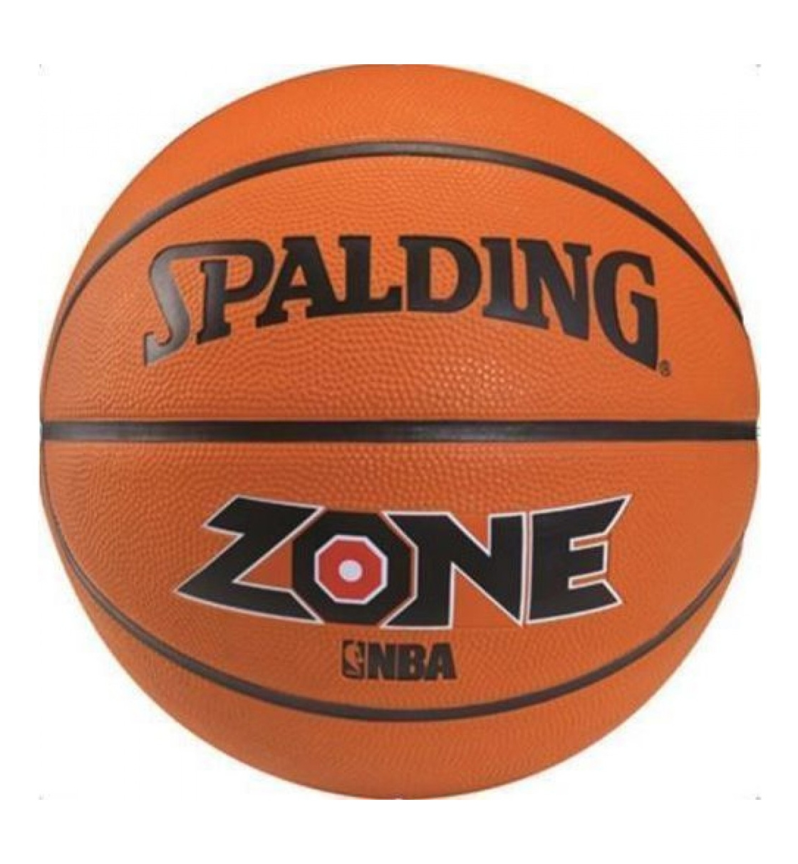 Spalding Μπάλα Basket Zone Brick Size 7 Rubber Basketball 73923Z1