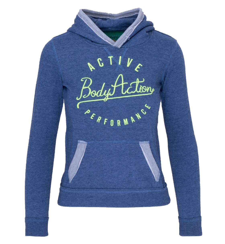 Body Action Παιδικό Φούτερ Με Κουκούλα Girls College Sweatshirt 062502