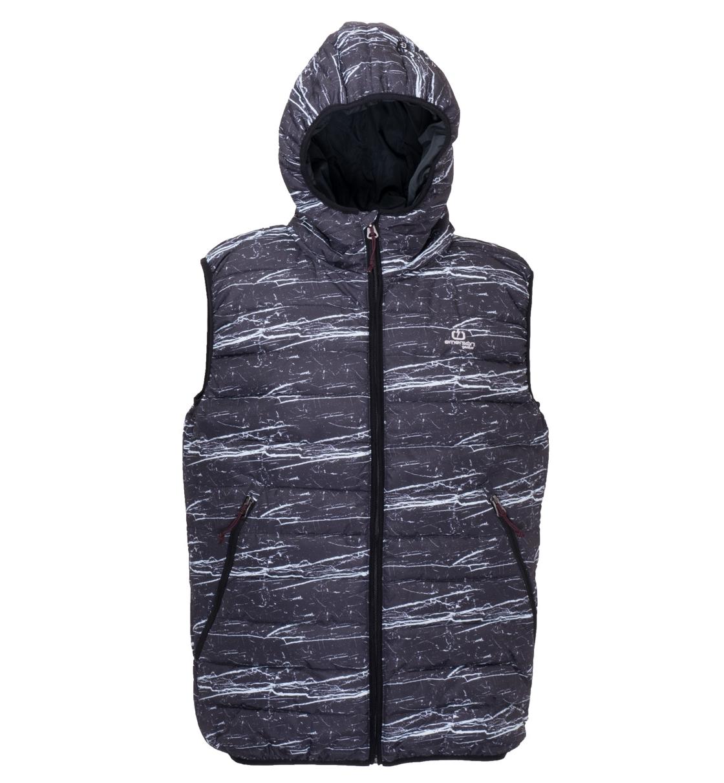 Emerson Ανδρικό Αθλητικό Μπουφάν Αμάνικο Men'S Washed Vest With Hood EM15.07