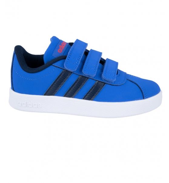c0ba341e0c9 adidas Παιδικό Παπούτσι Μόδας Ss19 Vl Court 2.0 Cmf C F36387 ...