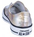 Converse Γυναικείο Παπούτσι Μόδας Ctas Ox Silver Gold 157655C