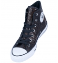 Converse Γυναικείο Παπούτσι Μόδας All Star Chuck Taylor Hi Snake Fashion Brown 557919C