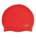 Speedo Σκουφάκι Κολύμβησης Ενηλίκων Do Plain Moulded Silicone Cap 70984B362U