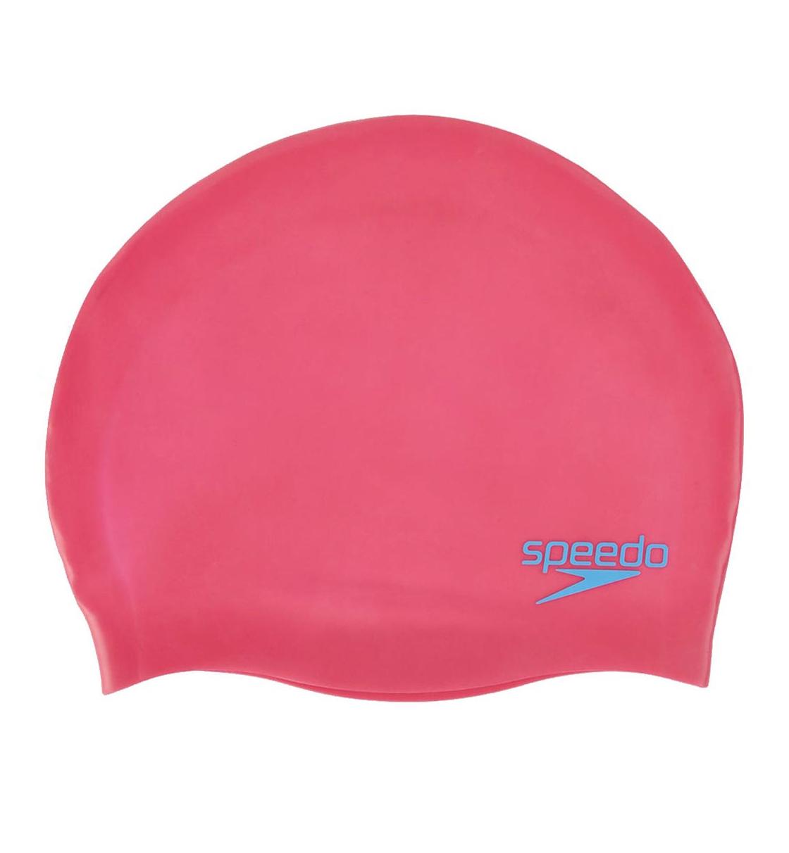 Speedo Σκουφάκι Κολύμβησης Παιδικό Do Plain Moulded Silicone Junior 70990A064J