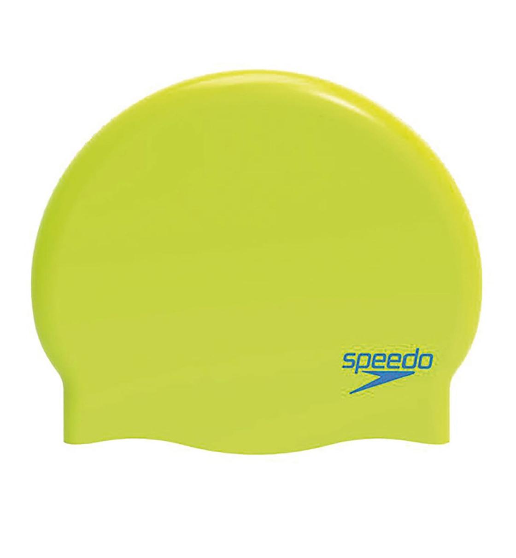 Speedo Σκουφάκι Κολύμβησης Παιδικό Do Plain Moulded Silicone Junior 70990B791J