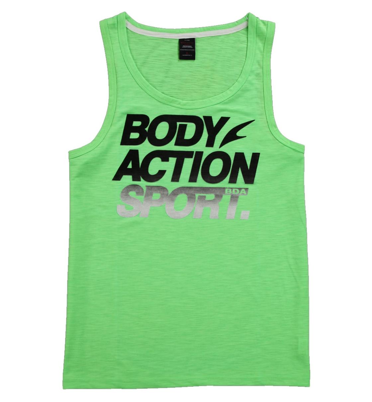 Body Action Ανδρική Αμάνικη Μπλούζα Men Regular Fit Tank Top 043607