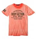 Body Action Ανδρική Κοντομάνικη Μπλούζα Men Over Dyed T-Shirt 053822