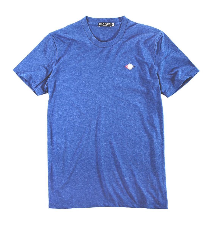 Body Action Ανδρική Κοντομάνικη Μπλούζα Men Crew Neck T-Shirt 053825