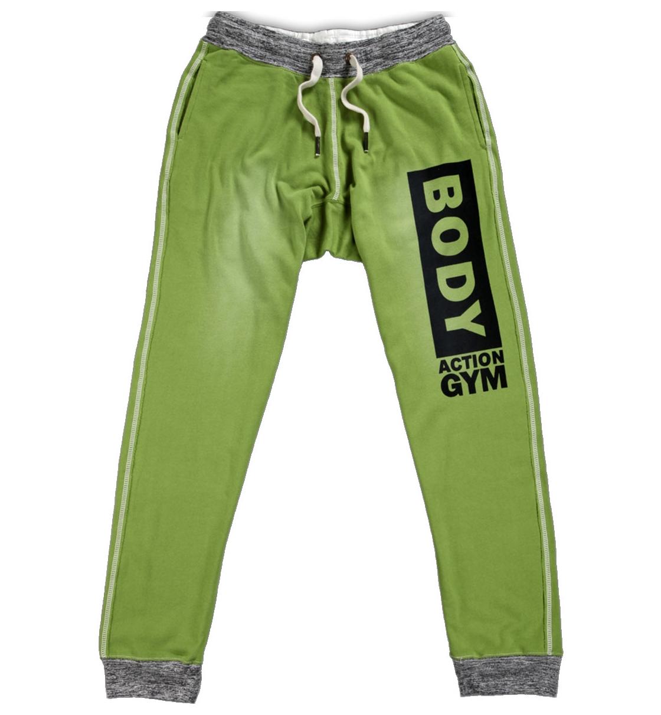 Body Action MEN DROP CROTCH PANTS