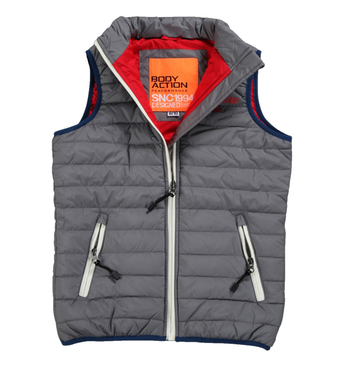 Body Action Παιδικό Αθλητικό Μπουφάν Αμάνικο Boys Ultralight Quilted Vest 074602