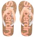 Superdry Γυναικεία Σαγιονάρα Παραλίας D1 Cork Flip Flop GF3002SQ