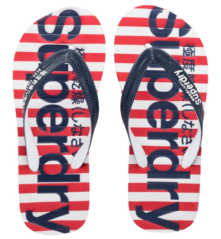 Superdry Γυναικεία Σαγιονάρα Παραλίας D2 Eva Stripe Flip Flop GF3004SQ