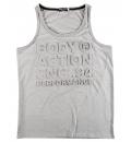 Body Action Ανδρική Αμάνικη Μπλούζα Men Jaspe Tank Top 043813