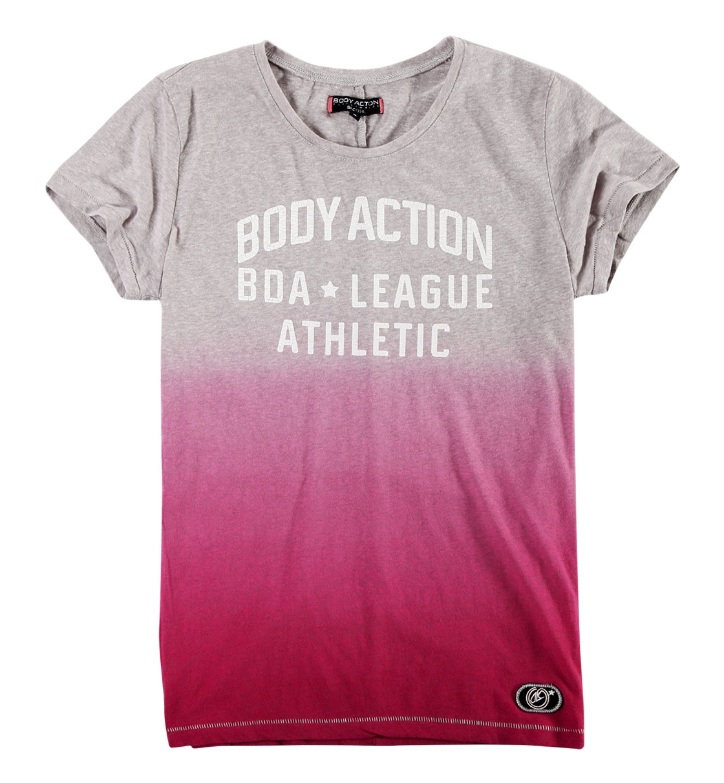 Body Action Γυναικεία Κοντομάνικη Μπλούζα Women Crew Neck T-Shirt 051822