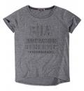 Body Action Γυναικεία Κοντομάνικη Μπλούζα Women Jaspe T-Shirt 051824