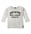Body Action Γυναικεία Μπλούζα 3/4 Women Dye-Effect Slouch Top 061830