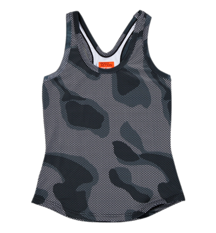 Body Action Γυναικεία Αμάνικη Μπλούζα Women Racerback Tank Top 041608