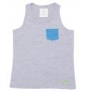 Body Action Ανδρική Αμάνικη Μπλούζα Men Regular Fit Tank Top 043505