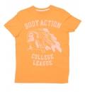 Body Action Ανδρική Κοντομάνικη Μπλούζα Men Slim Fit S/S T-Shirt 053513