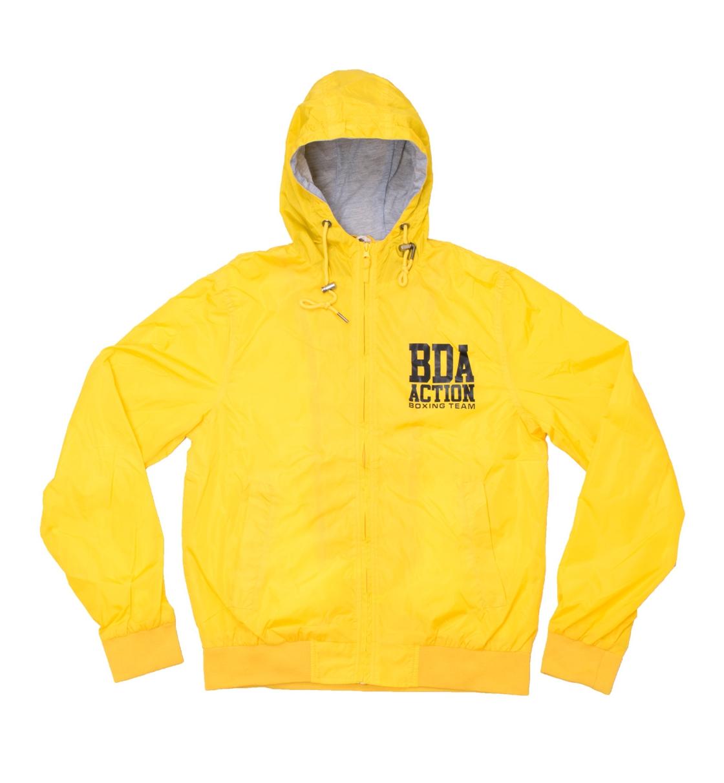 Body Action Ανδρικό Αθλητικό Μπουφάν Αντιανεμικό Running Jacket 073415