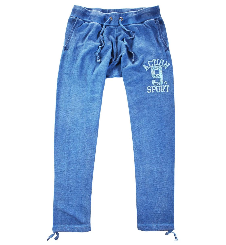Body Action Ανδρικό Αθλητικό Παντελόνι Men Drop Crotch Loose Fit Pants 023619