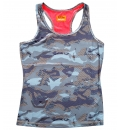 Body Action Γυναικεία Αμάνικη Μπλούζα Women Racerback Tank Top 041735