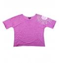 Body Action Γυναικεία Κοντομάνικη Μπλούζα Women Loose Bat Style Top 061611
