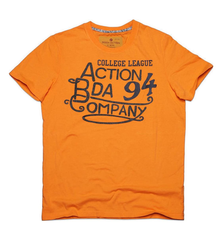 Body Action Ανδρική Κοντομάνικη Μπλούζα Men Slim Fit S/S T-Shirt 053509