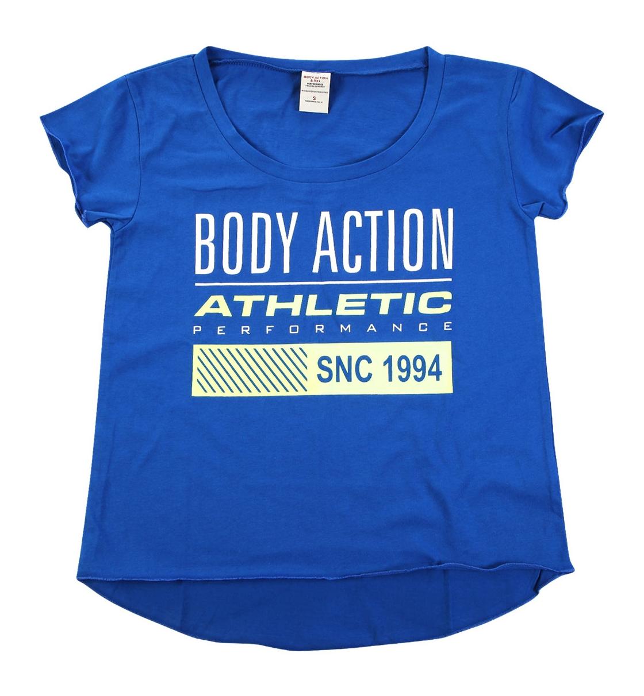 Body Action Γυναικεία Κοντομάνικη Μπλούζα Women Oversized S/S T-Shirt 051616