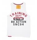 Body Action Ανδρική Αμάνικη Μπλούζα Men Regular Fit Tank Top 043507