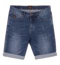 Basehit Ανδρική Βερμούδα Τζιν Men'S Stretch Denim Short Pants BM45.98