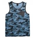 Body Action Ανδρική Αμάνικη Μπλούζα Men Regular Fit Tank Top 043603