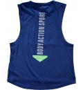 Body Action Γυναικεία Αμάνικη Μπλούζα FW18 Women Oversized Tank Top 041736