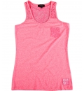 Body Action Γυναικεία Αμάνικη Μπλούζα Women Lace Racerback Tank Top 041741