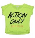 Body Action Γυναικεία Κοντομάνικη Μπλούζα FW17 Women Loose Fit S/S Top 051509